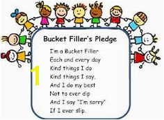 bucket filling activity sheets Have You Filled a Bucket Today