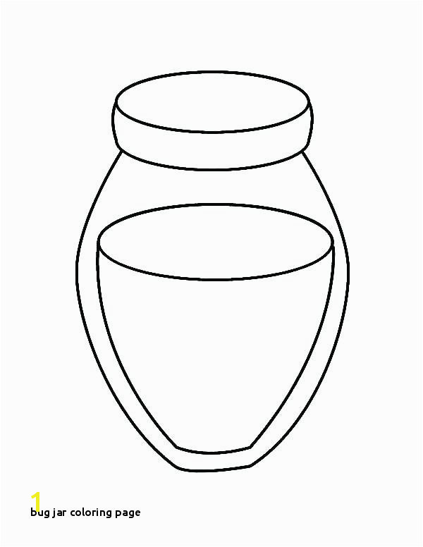 Bug Jar Coloring Page Bug Jar Coloring Page – Bixoufo