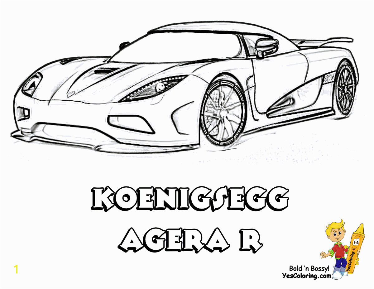 Import Car Coloring Pages