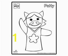 Patty Coloring Page – Sprout Sharing Show Coloring Pages for Kids