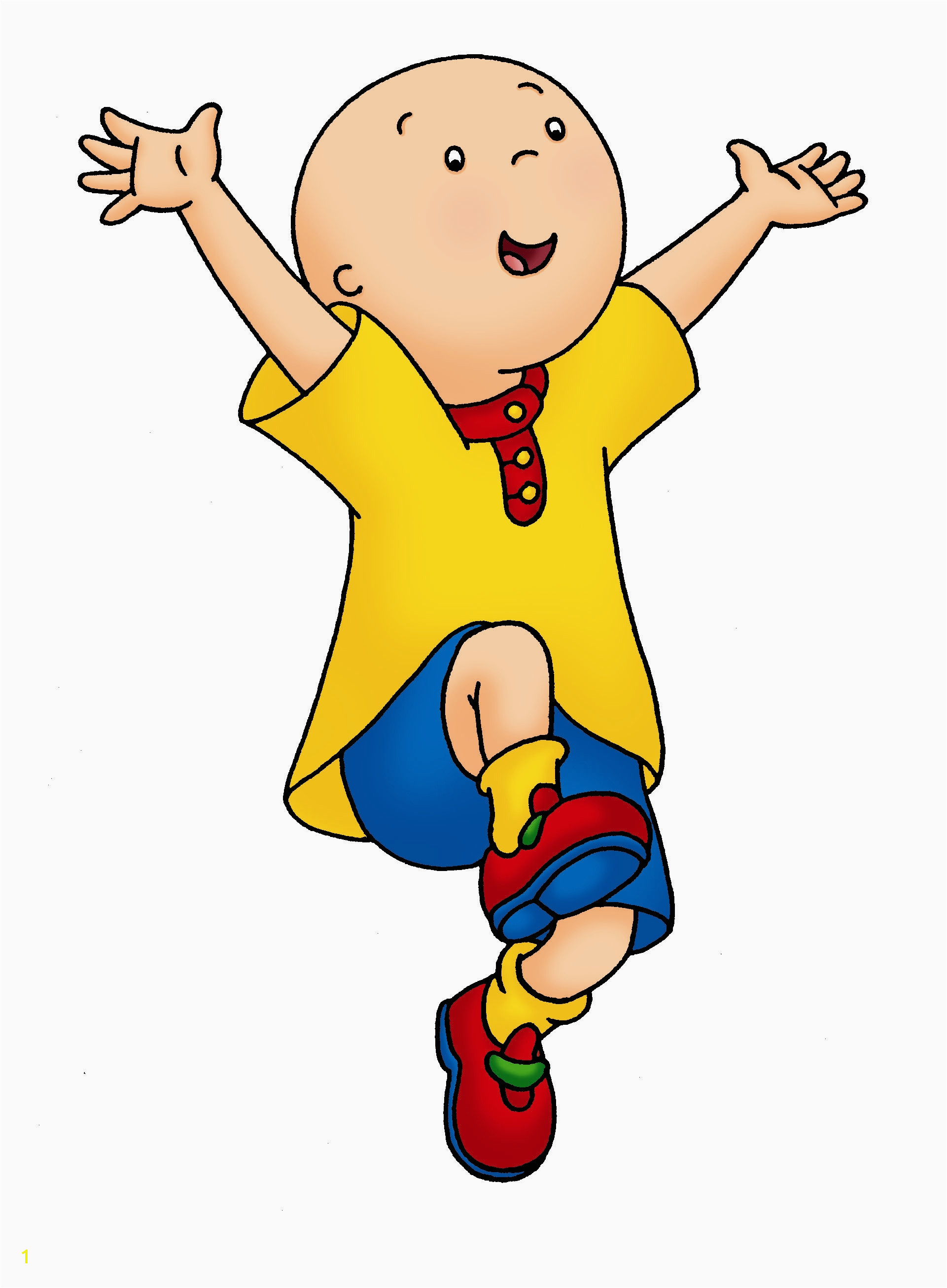 Caillou Coloring Pages Sprout Caillou Poop Wiki