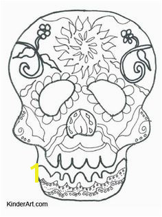 Day of the Dead Calavera Skull Mask Free Halloween Coloring Pages to Print and Color