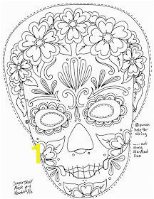 Calavera Mask Coloring Page 38 Best Maskid Images On Pinterest In 2018