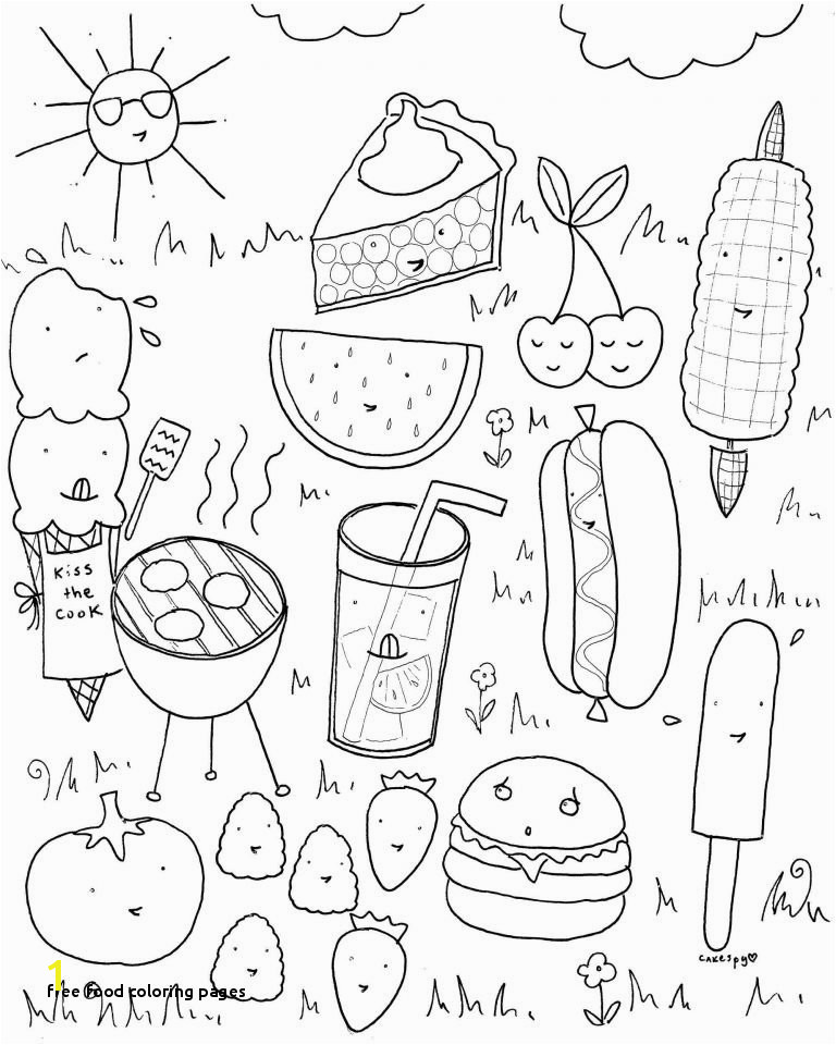 Candy Coloring Pages Free Printables Free Food Coloring Pages Waves Color Kids Coloring Pages Books