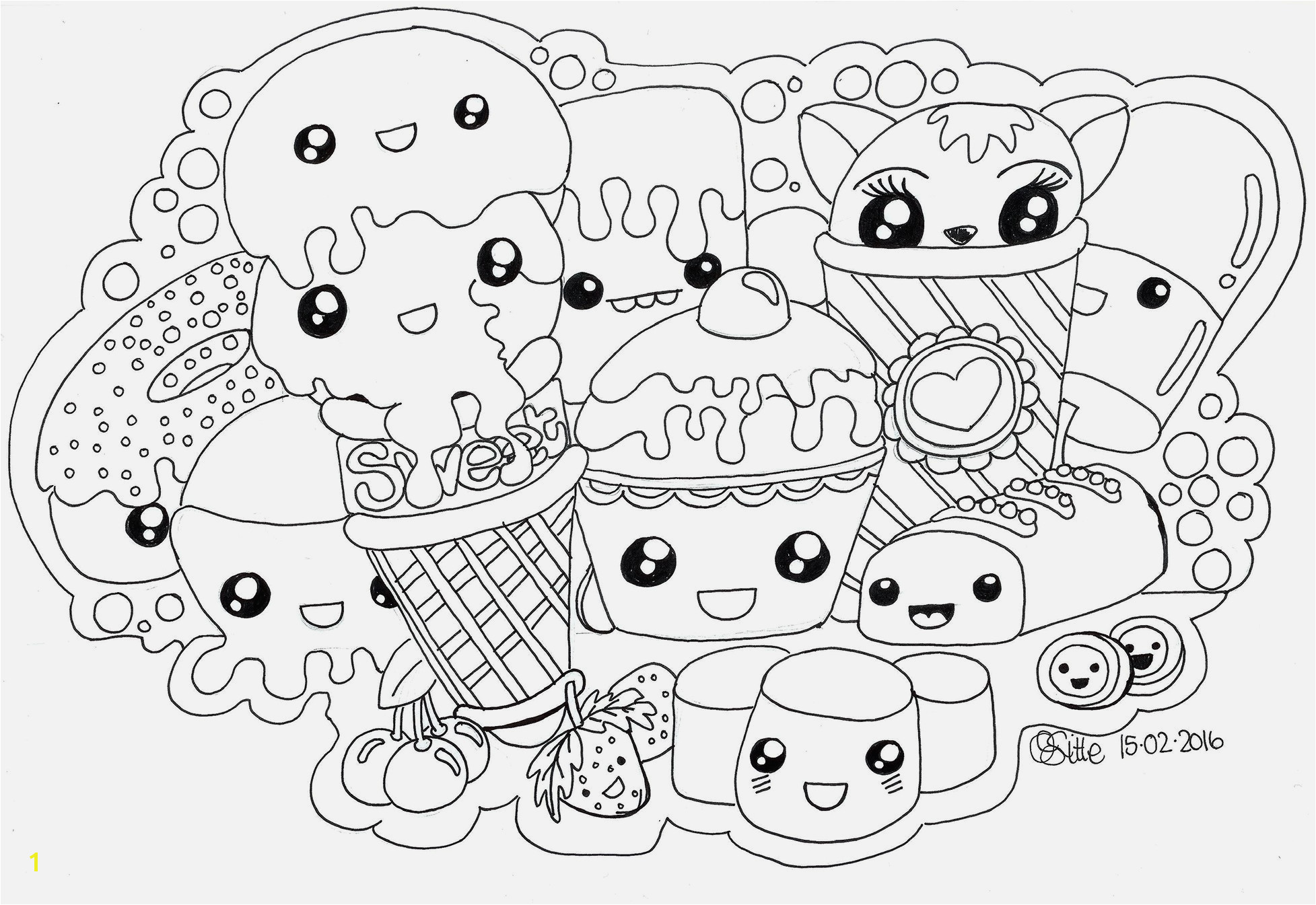 Kawaii Coloring Pages Amazing Advantages Kawaii Food Coloring Pages Awesome Kawaii Coloring Pages Od Fruits