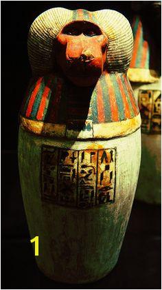 Hapi H¢pi Canopic Jar Egypt These jars were used to