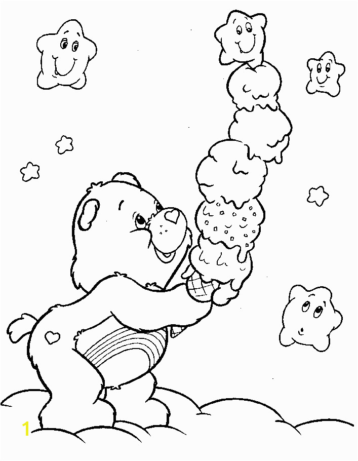 care bear care bear Coloring Pages