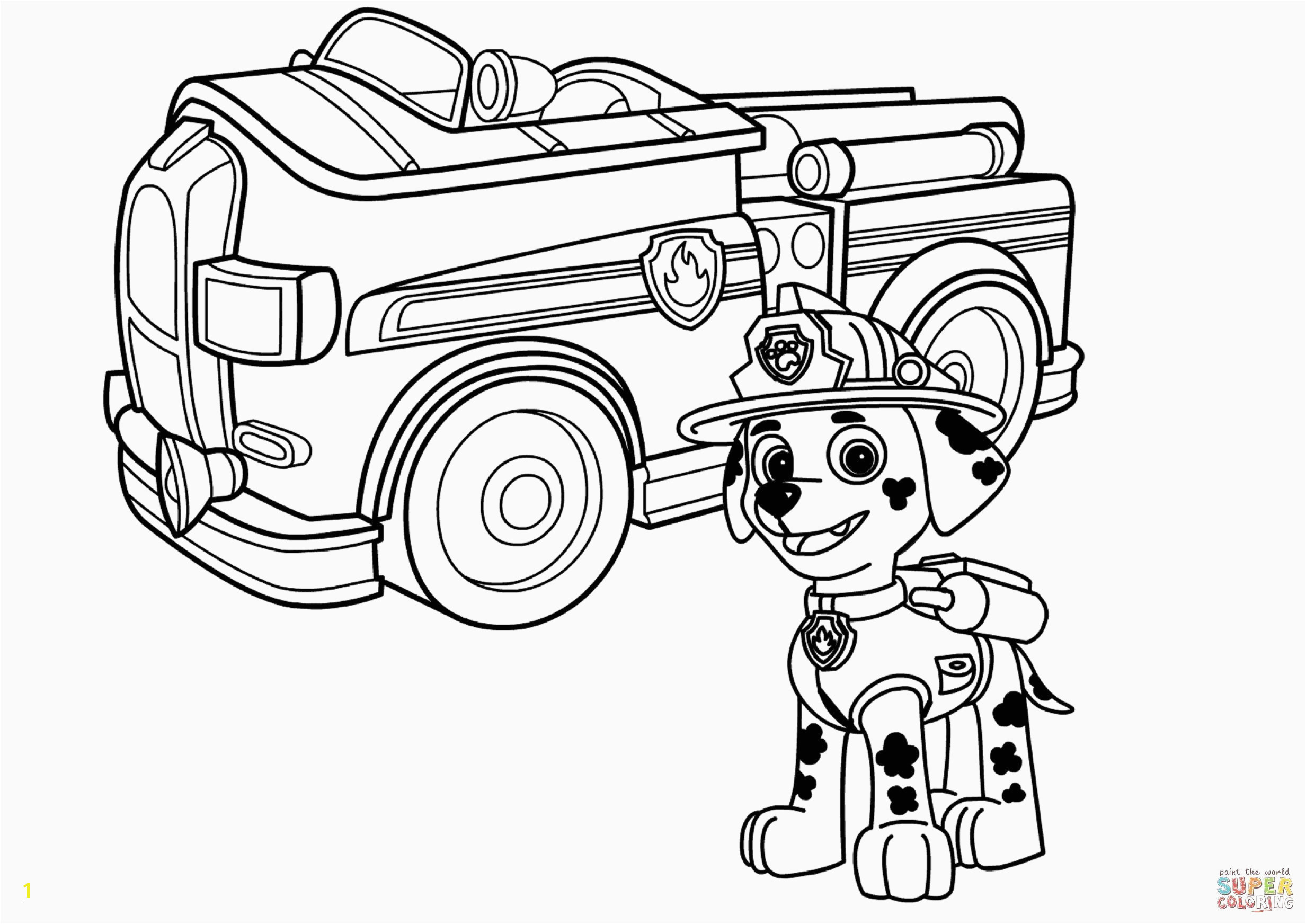 Cartoon Fire Truck Coloring Page Fire Truck Coloring Pages Sample thephotosync