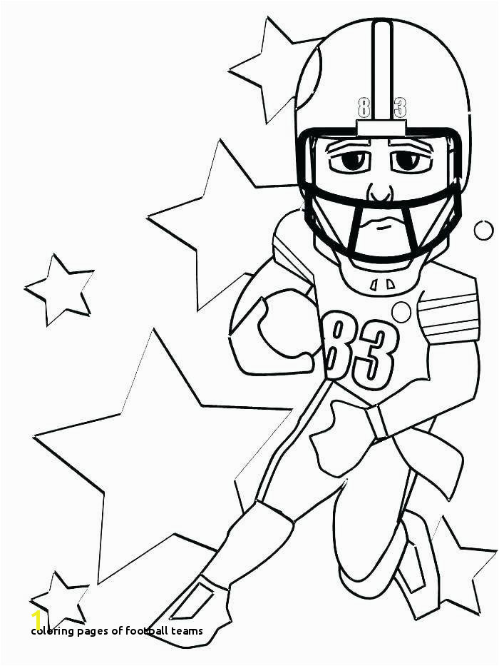 Coloring Pages Football Teams Coloring Coloring Pages Football Players Free Coloring Pages Concept