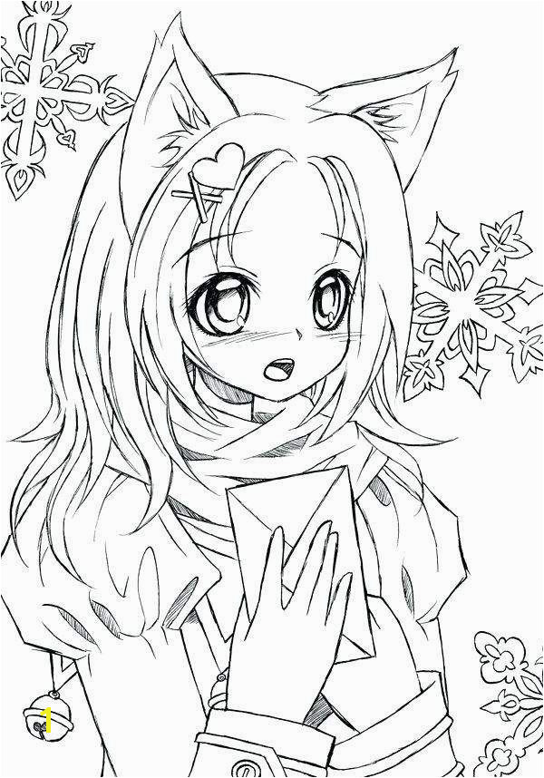 inspirational anime girl coloring pages heart coloring pagesanime cat girl coloring pages best of anime