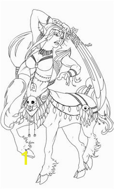 female centaur warrior printable adult coloring pages Printable Adult Coloring Pages Coloring Pages For Kids