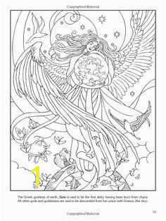 wiccan coloring pages colouring adult advanced myth god goddess wings stars butterfly Adult Coloring Pages