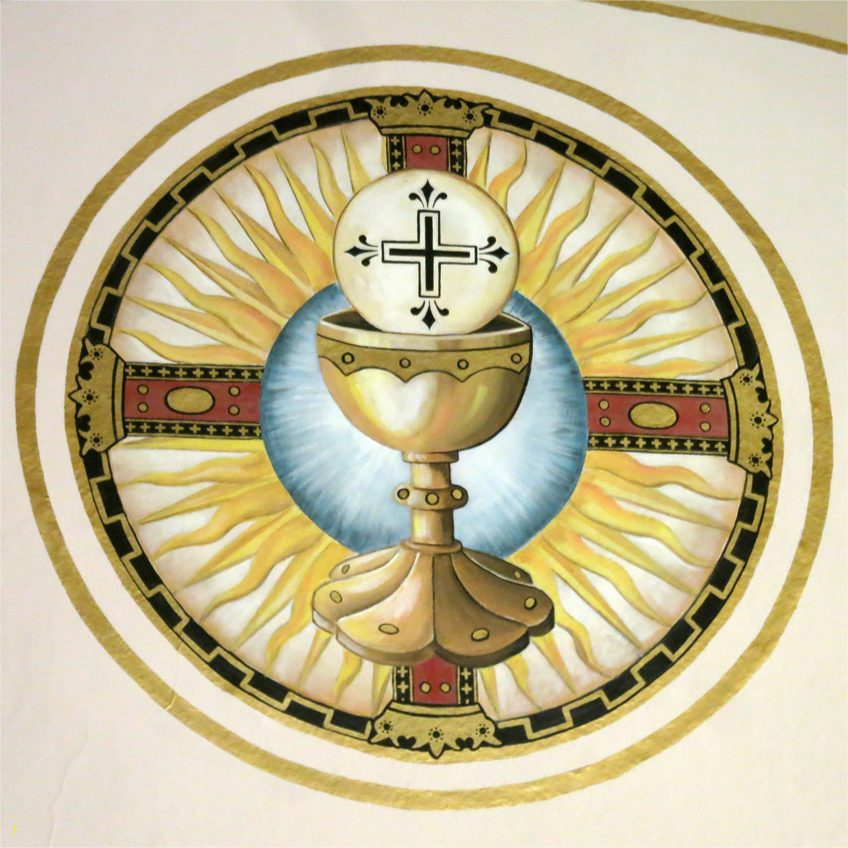 File Saint Remy Catholic Church Russia Ohio fresco Eucharistic chalice