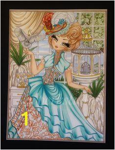 Hannah Lynn Coloring Pages · Hannahlynn Hannahlynnart adultcoloringbooks adultcoloring coloringbook luminancepencils Copics coloredpencils