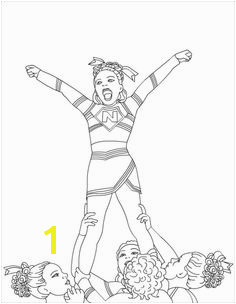 Cheerleading Megaphone Coloring Pages 20 Best Cheerleading Coloring Pages Images On Pinterest
