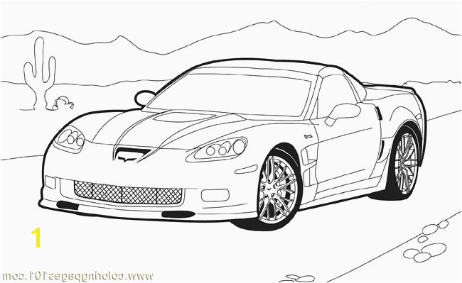 Chevy Corvette Coloring Pages 10 Inspirational Corvette Coloring Pages