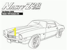 line American muscle car Camaro Z28 coloring pages Cars Coloring Pages Coloring Sheets Coloring