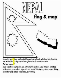 Chile Flag Coloring Page 68 Best K History Geography Images