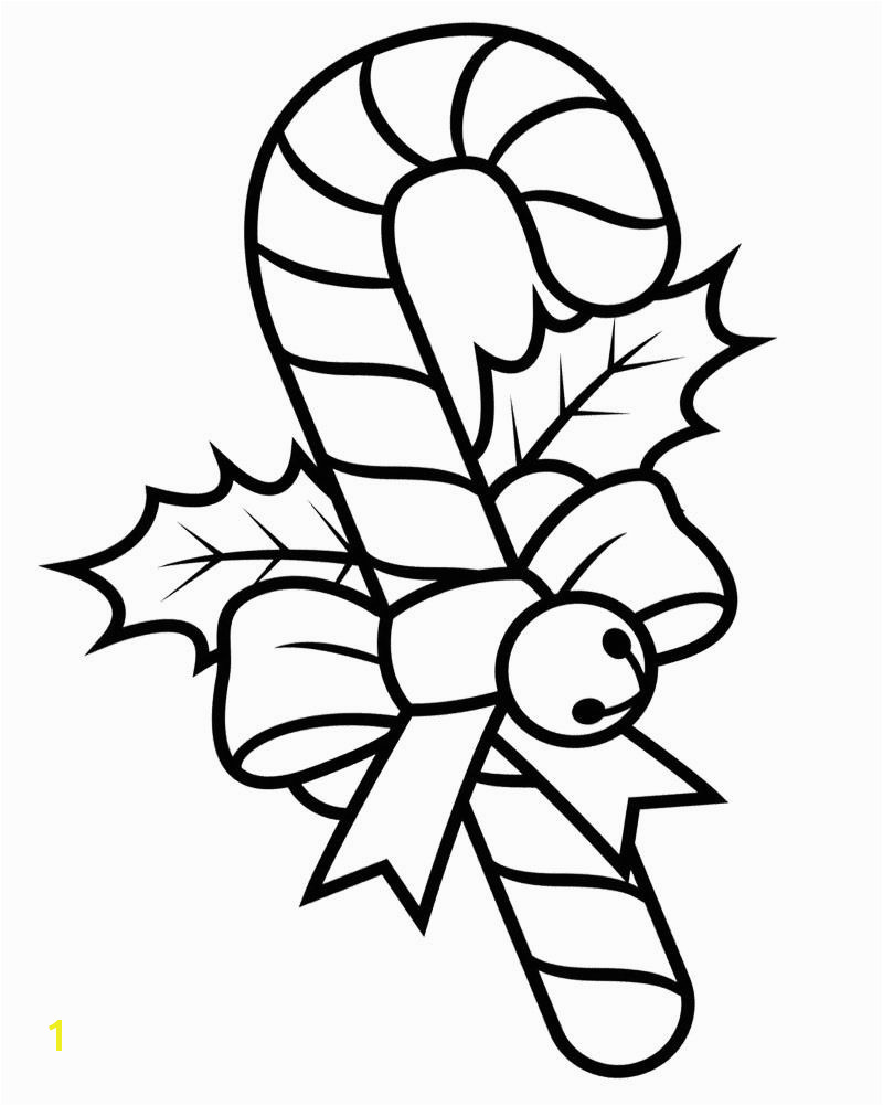 Christmas Candy Cane Coloring Pages Candy Cane Coloring Pages Christmas❄ Sheets