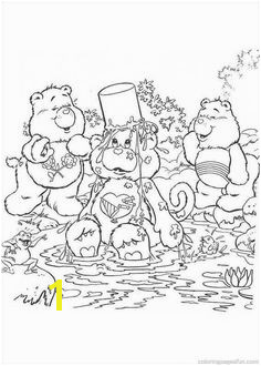 Care Bears Coloring Pages 9 Bear Coloring Pages Cartoon Coloring Pages Coloring Pages For