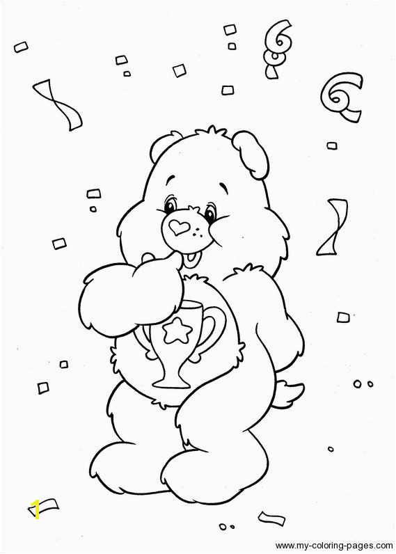Care Bears Coloring 111