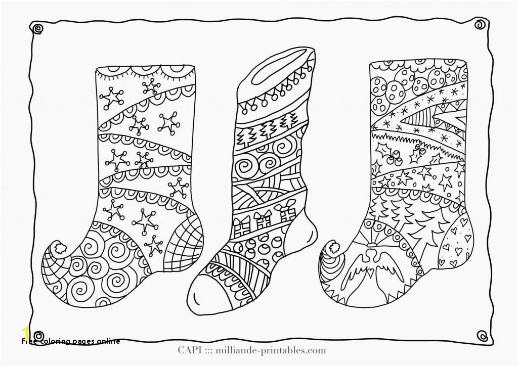 Free Coloring Pages line Free Line Christmas Coloring Pages to Print Coloring Line 0d