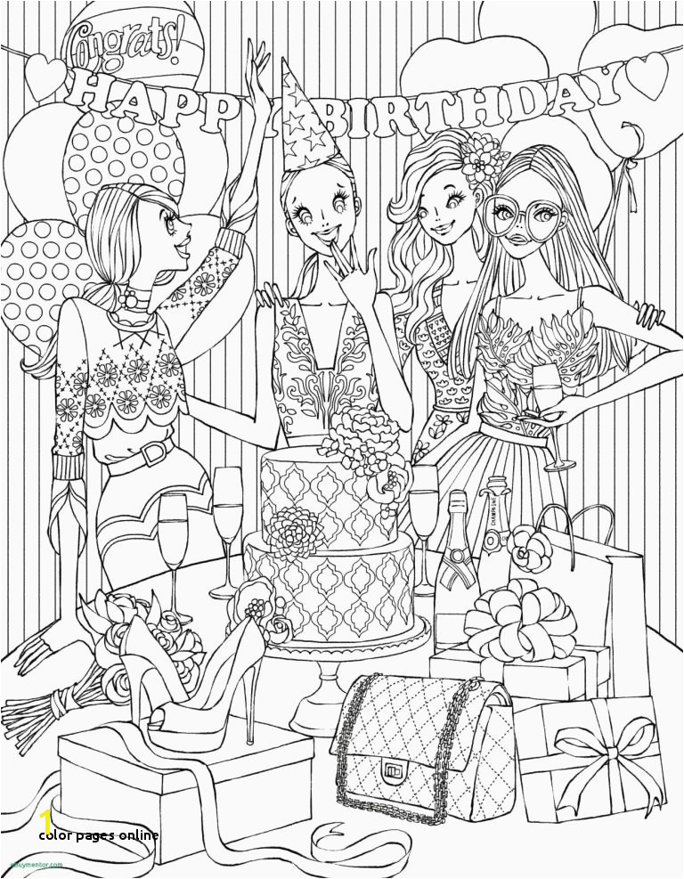 Color Pages line Coloring Pages Line Free Christmas Coloring Pages for Free Line