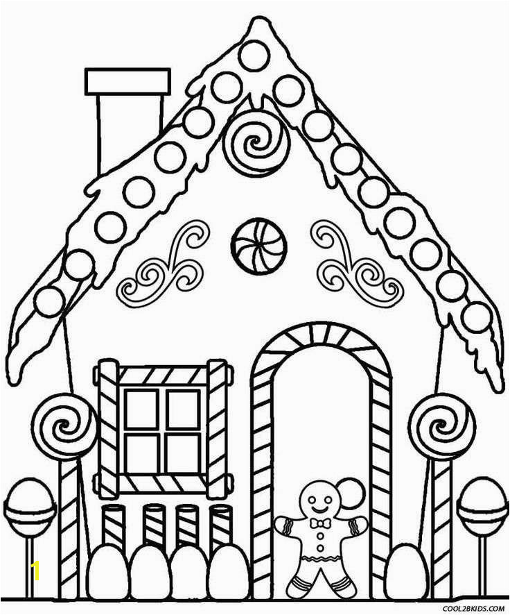 Christmas Gingerbread House Coloring Pages Gingerbread Coloring Pages Awesome Christmas Coloring Pages Hd