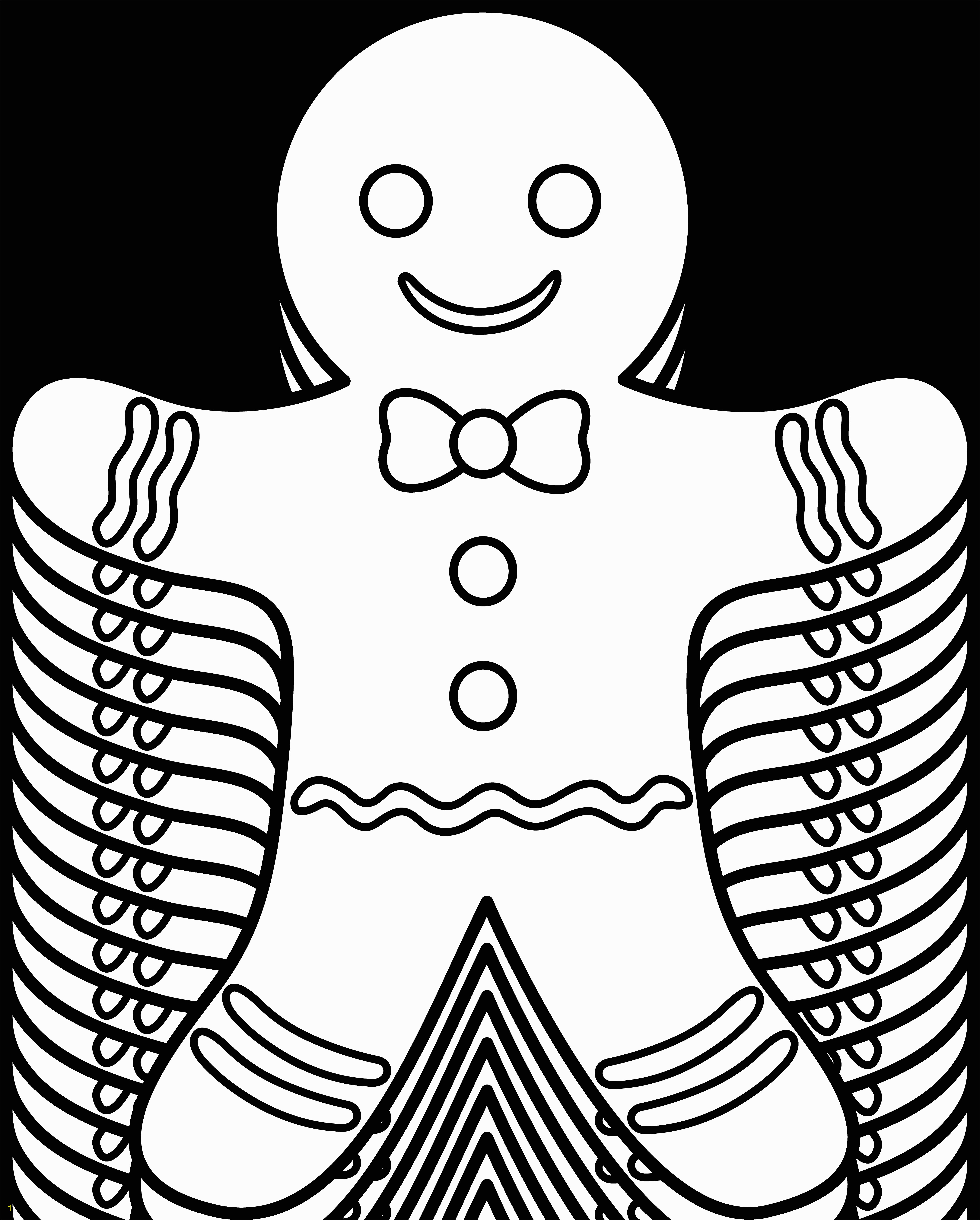 Christmas Gingerbread House Coloring Pages Gingerbread Man Coloring Pages Free
