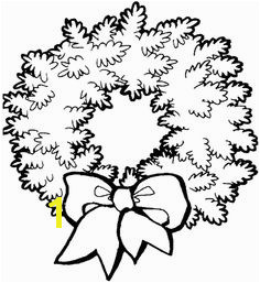 wreath coloring page images Google Search Christmas Crafts Christmas Wreath Clipart Christmas Templates