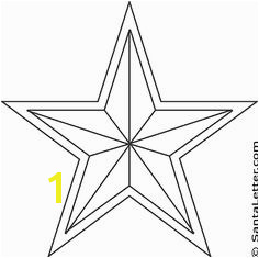 christmas star coloring pages santaletter