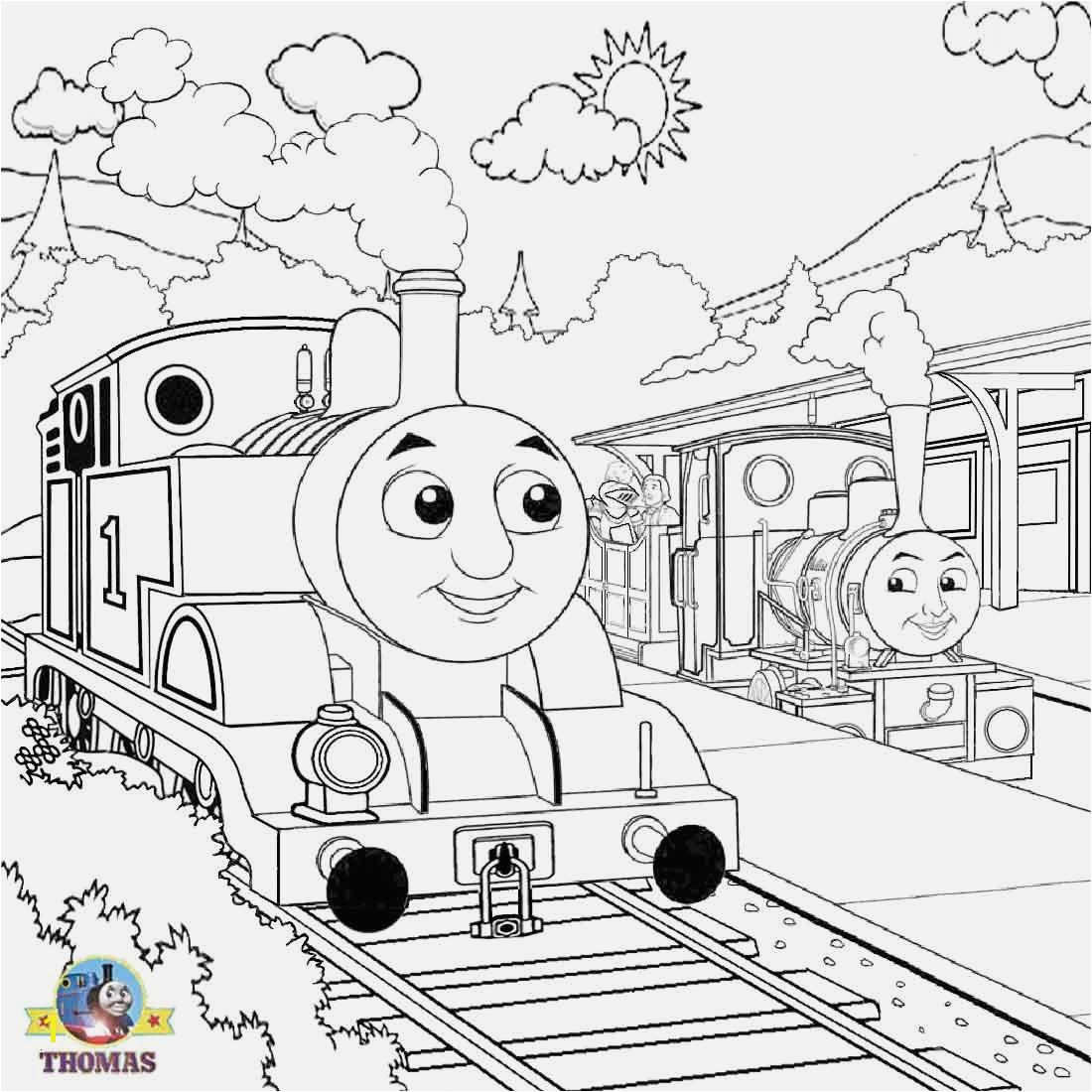 Thomas the Train Coloring Pages Printable Coloring Pages Inspirational Thomas the Train Coloring Book Coloring Pages