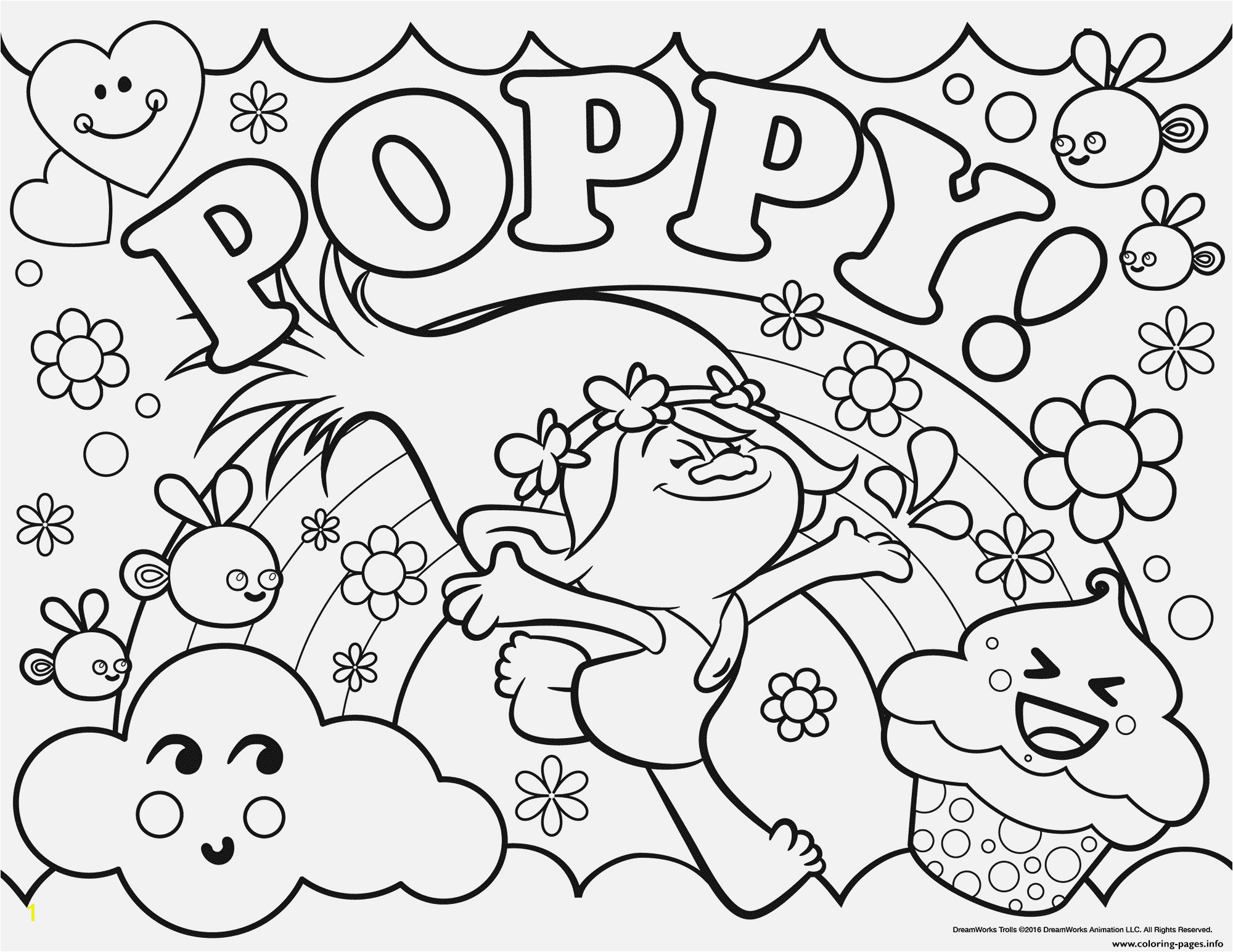 Free Trolls Coloring Pages the Best Ever Trolls Coloring Sheets Beautiful Trolls Coloring Pages Free