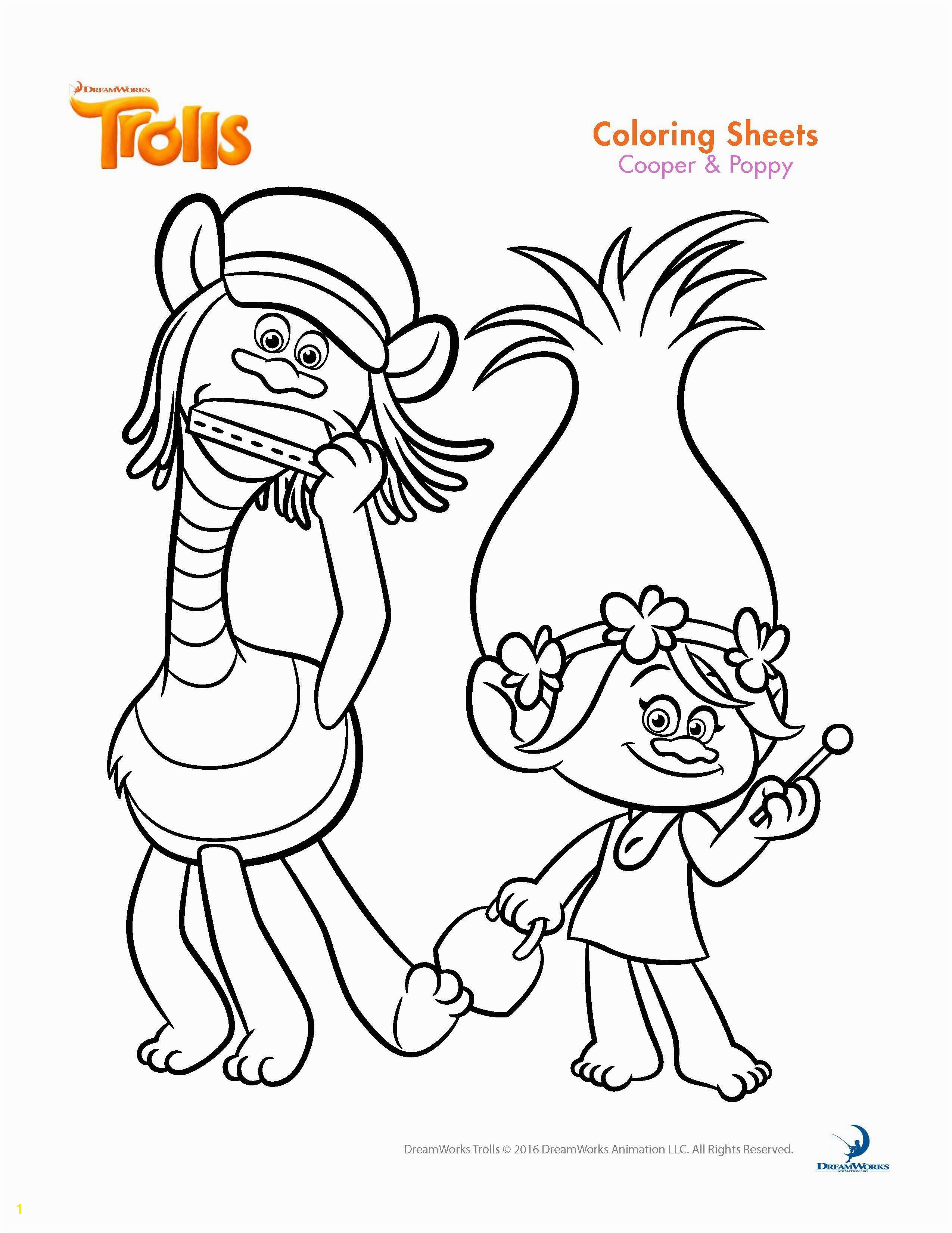 Trolls Poppy Coloring Pages printables Faces Printable Coloring Pages Inspirational Trolls Coloring Sheets