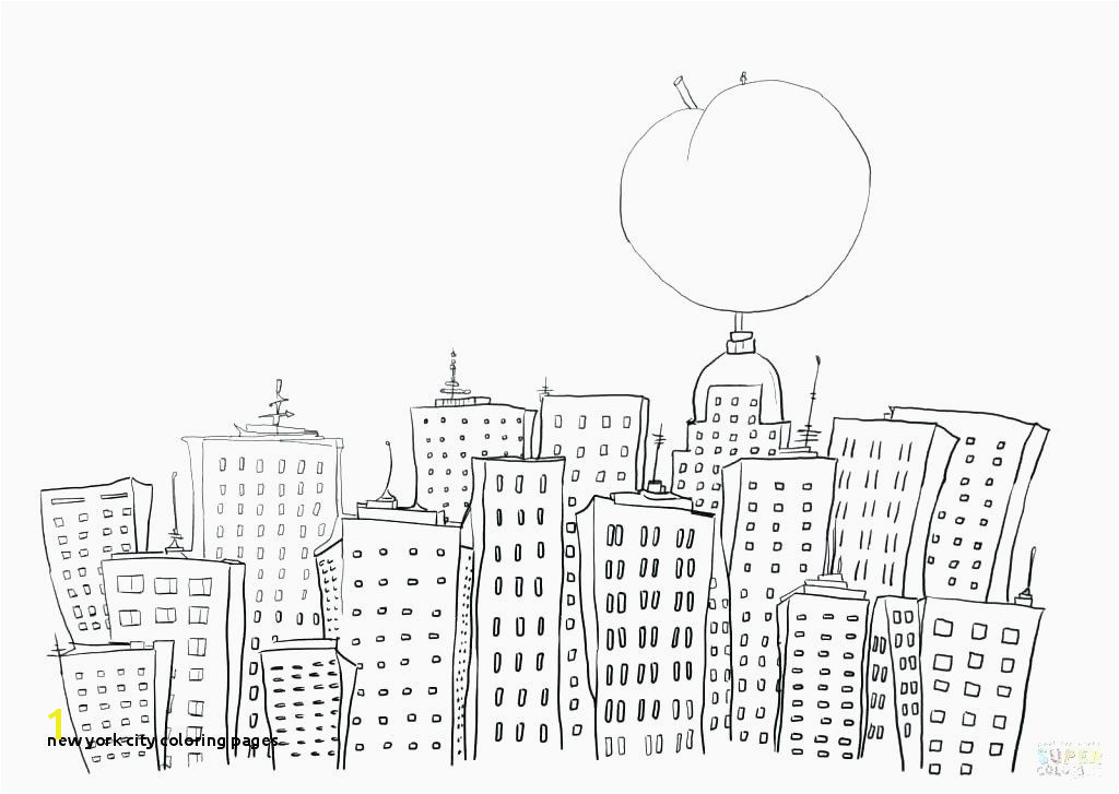 City Coloring Pages for Adults New York City Coloring Pages Lovely New City Coloring Pages for Kids