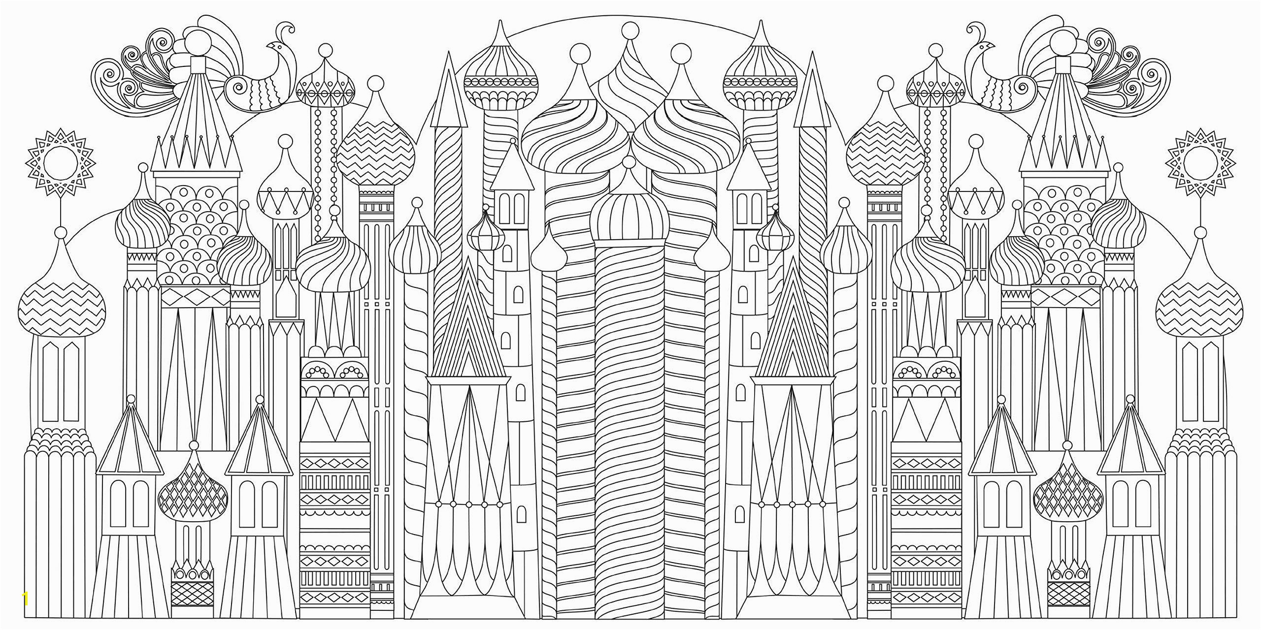 City Coloring Pages for Adults Splendid Cities Color Your Way to Calm Rosie Goodwin Alice