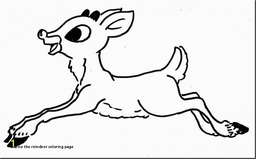 14 Luxury Clarice the Reindeer Coloring Page