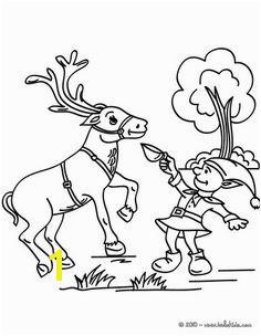 here eat this reindeer per elf Christmas Makes Christmas Colors Christmas Coloring Pages