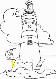 lighthouse coloring pages for adults
