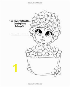 Amazon Lacy Sunshine s Flower Pot Pretties Coloring Book Volume 6 Magical…