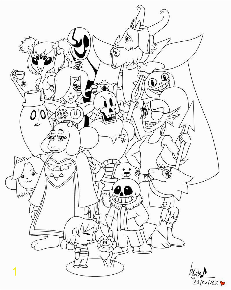 Clay Pot Coloring Page Undertale Coloring Pages Printable Projects to Try