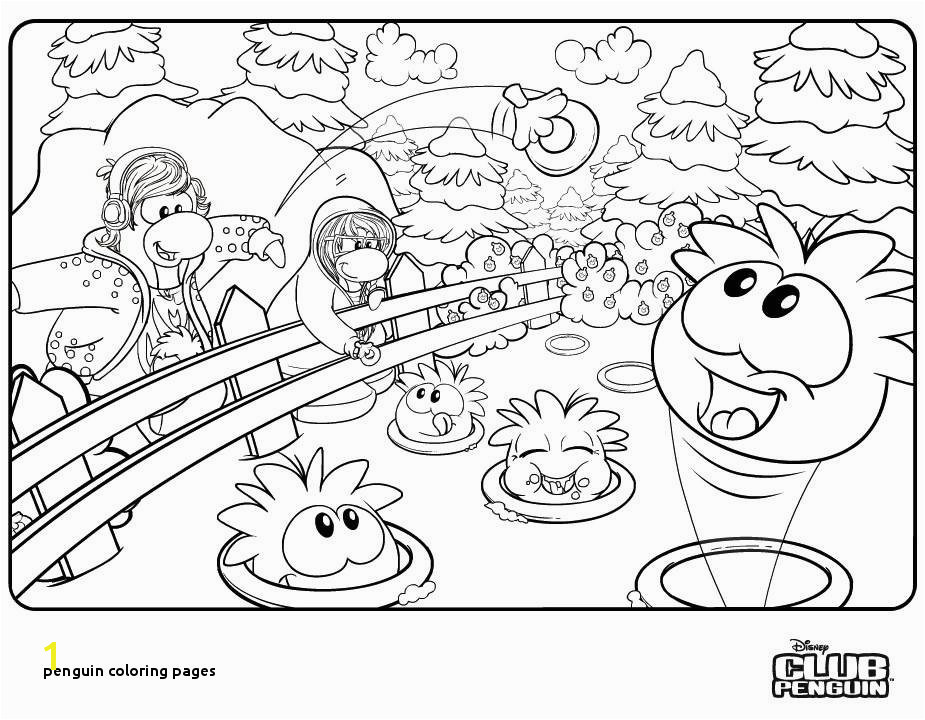 Best Club Penguin Coloring Pages Puffles Print Inspiration Club
