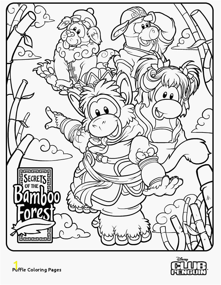 Puffle Coloring Pages Club Penguin Coloring Pages astounding Club Penguin Coloring Pages