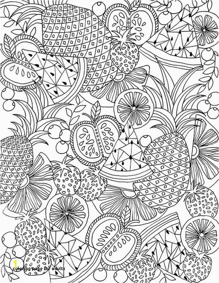 Coloring Page for Adults Adult Coloring Pages Patterns Best Page Coloring 0d Detailed