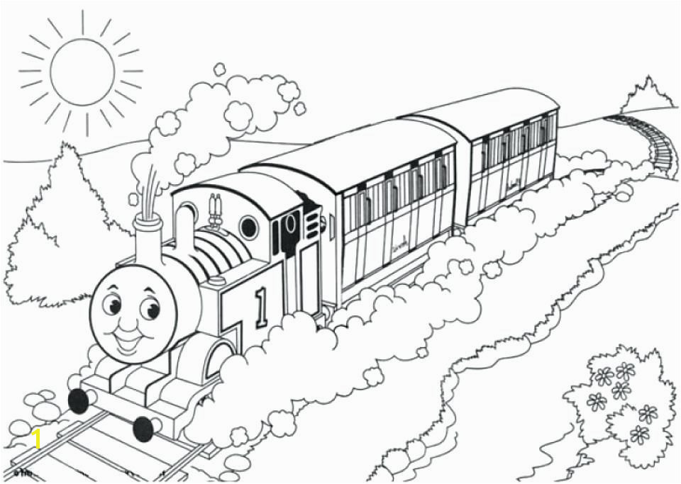 Colouring In Thomas the Tank Engine Coloring Pages Related Post