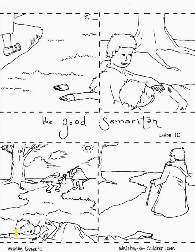 Good Samaritan Coloring Page Elegant Fresh Improved Good Samaritan Coloring Page Free Printable Pages 12