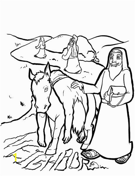 Good Samaritan Coloring Page grande
