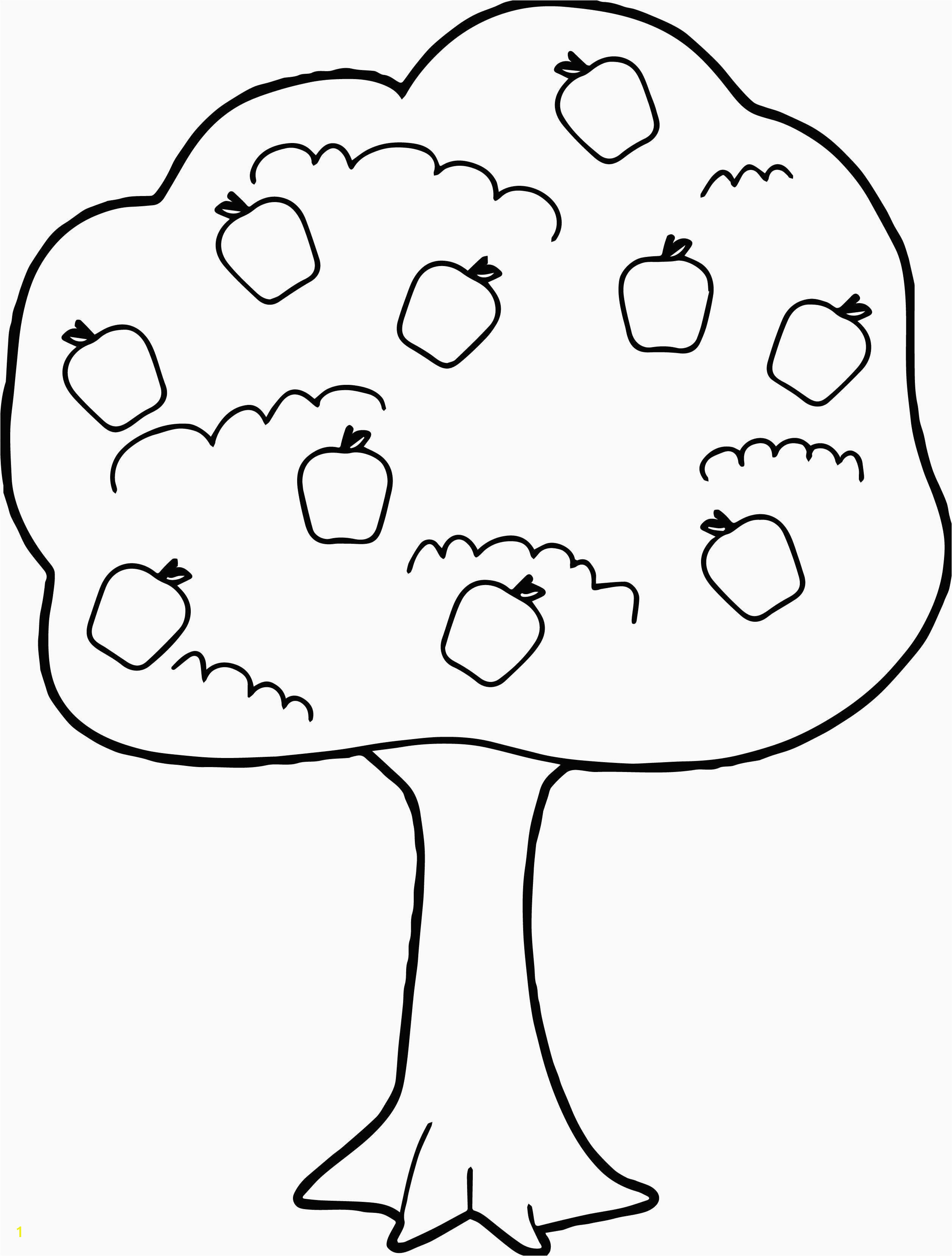 Preschool Coloring Pages Apple Tree Inspirational Printable Coloring Pages For Kids Luxury Printable Coloring 0d