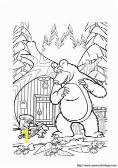 masha and the bear russian printables Google Search Bear Coloring Pages Cartoon Coloring Pages