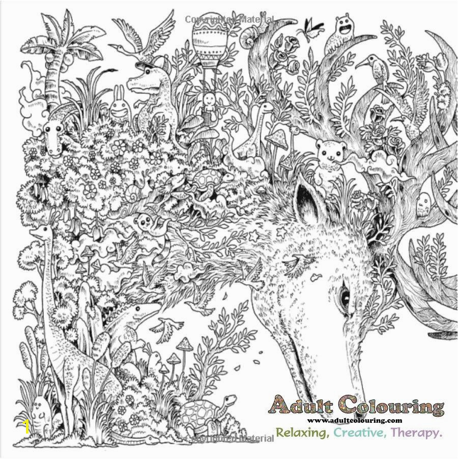 Animorphia Adult Colouring Hidden Object Search Challenge Book